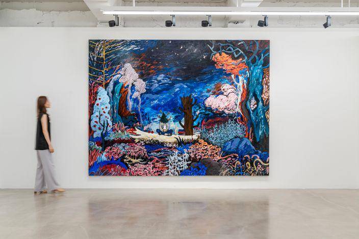 Installation view: Yuichi Hirako, 'Mount Mariana', Gallery Baton, Seoul, 13 Aug - 16 Sep, 2021