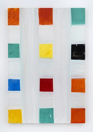 Two Spot Charm by Mary Heilmann contemporary artwork
