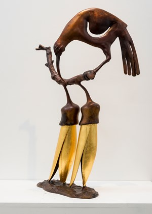 Huia and Kowhai by Paul Dibble contemporary artwork