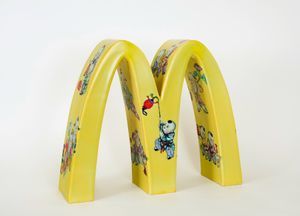 McDonald's - One Hundred Kid's Play by Li Lihong contemporary artwork