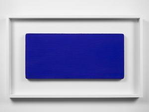 Monochrome bleu sans titre (IKB 231) by Yves Klein contemporary artwork mixed media