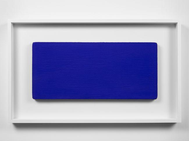 Monochrome bleu sans titre (IKB 231) by Yves Klein contemporary artwork