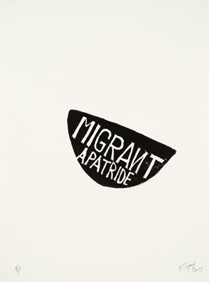 Migrant Apatride by Barthélémy Toguo contemporary artwork
