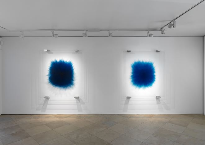 Exhibition view: Idris Khan, Words Beneath Words, Victoria Miro, Venice (26 October 14 December 2019). Courtesy Victoria Miro.