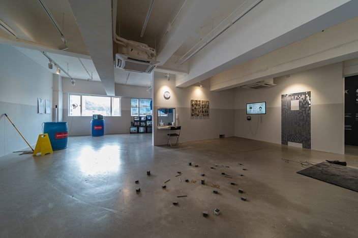 Exhibition view: Luke Ching, Glitch in the Matrix, Para Site, Hong Kong (5 December 2020–31 January 2021). Courtesy Para Site. Photo: Samson Cheung Choi Sang.