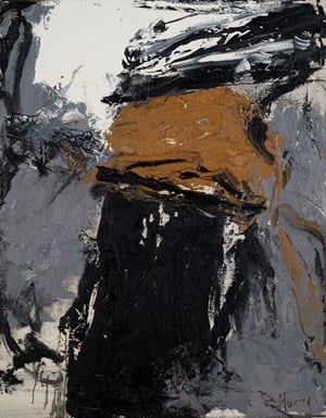 White, Grey, Yellow, Black 白,灰,黄,黑 by Huang Rui contemporary artwork