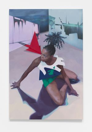 Erica by Deng Shiqing contemporary artwork painting, works on paper