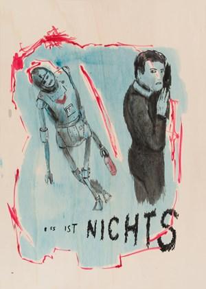 Nichts by Birgit Brenner contemporary artwork
