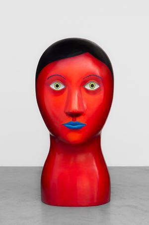 Head by Nicolas Party contemporary artwork