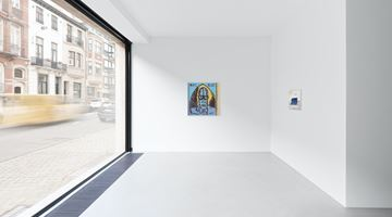 Contemporary art exhibition, Walter Swennen, Parti chercher du white spirit at Xavier Hufkens, Van Eyck, Brussels
