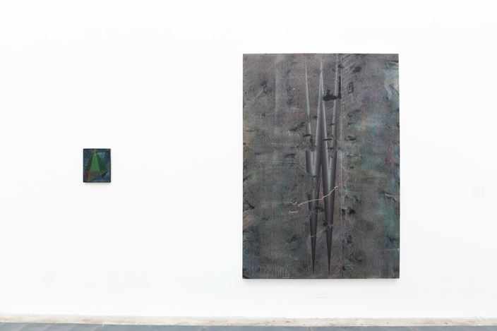 Exhibition view: Tang Maohong and He Wei, Dual Solo Exhibition, ShanghART, Beijing (16 November–22 December 2019). Courtesy ShanghART.