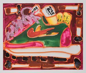 Sacai + Cigs by Katherine Bernhardt contemporary artwork