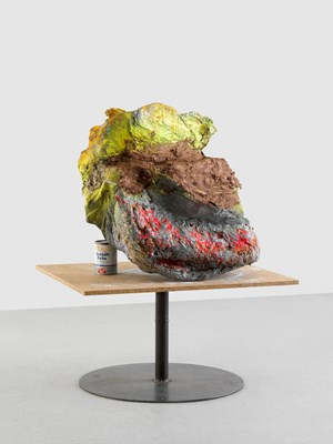 Untitled (Element from the environment 'Alpenglühn') by Franz West contemporary artwork