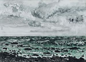 Tiaoshi: Wave Spray II by Lin Chuan-Chu contemporary artwork