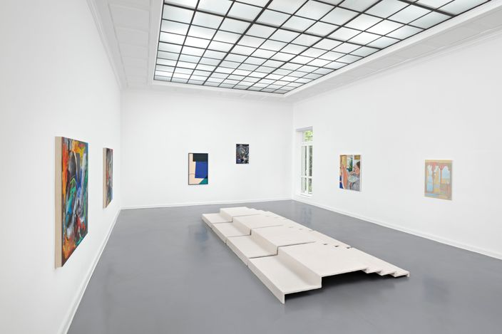 Exhibition view: Group Exhibition, Feeling the Room Temperature, SETAREH, Berlin (10 July–31 August 2021). Courtesy SETAREH.