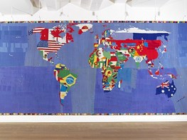 Major shows in Venice and Paris to map Alighiero Boetti's monumental spectrum