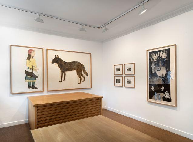 Exhibition view: Kiki Smith,Homecoming, Galerie Lelong & Co., 13 Rue de Téhéran, Paris (10 October–16 November 2019). Courtesy Galerie Lelong & Co. Paris.