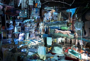 Images in Debris by Sarah Sze contemporary artwork