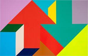 Arrow Painting 11 by Tony Tasset contemporary artwork