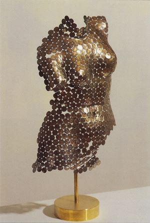 Treasure from the British Museum: Torso of Venus 《希臘維納斯身軀》 by Wu Shaoxiang contemporary artwork