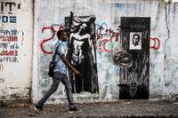 Haïti by Ernest Pignon-Ernest contemporary artwork photography