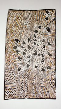 Gangurri by Mulkun Wirrpanda contemporary artwork painting