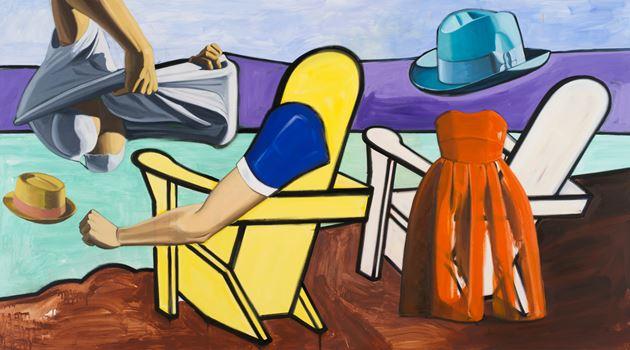 David Salle contemporary artist