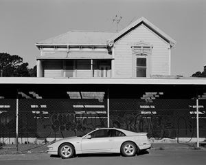 Untitled (house and car), Wellington, New Zealand by Harry Culy contemporary artwork