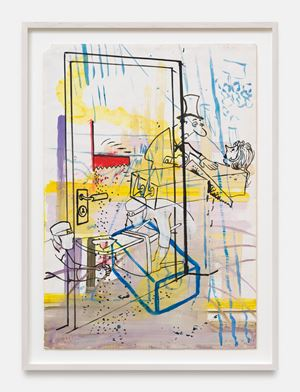 o.T. by Sigmar Polke contemporary artwork