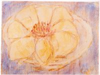 Lotusblüte by Christian Rohlfs contemporary artwork works on paper
