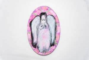 Angel (Icon 001) by Chen Pin Tao contemporary artwork painting