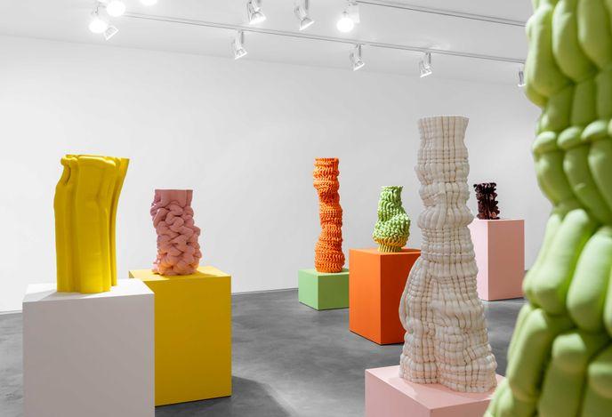 Exhibition view: Anton Alvarez, Tight Squeeze, Huxley-Parlour, London (8 July–11 September 2021). CourtesyHuxley-Parlour.