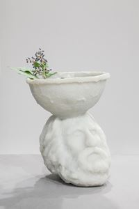 Ramon Llull by Goshka Macuga contemporary artwork sculpture