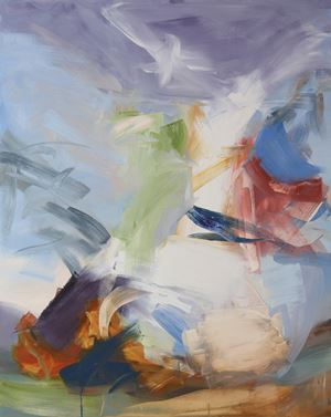 Abraham and Angels by Elise Ansel contemporary artwork