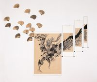 DragonScape by Donghyun Son contemporary artwork painting, works on paper, drawing