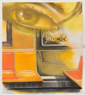 Study for a Subway Interior by Chris Daze Ellis contemporary artwork