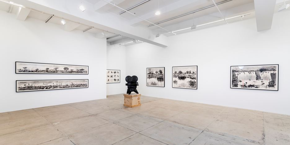 Exhibition view: William Kentridge,Let us Try for Once,Marian Goodman Gallery, New York (1 March–20 April 2019). Courtesy the artist and Marian Goodman Gallery.