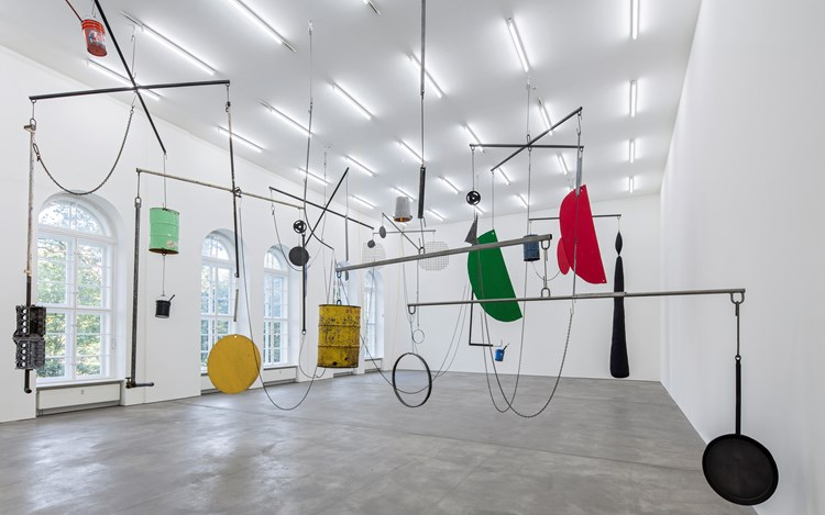Sterling Ruby, THE JUNGLE, 2016, Exhibition view, Sprüth Magers, Berlin. Courtesy Sprüth Magers, Berlin. Courtesy Sprüth Magers.