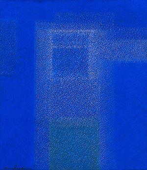 IN BLUE Mar'18 by Katsuyoshi Inokuma contemporary artwork painting