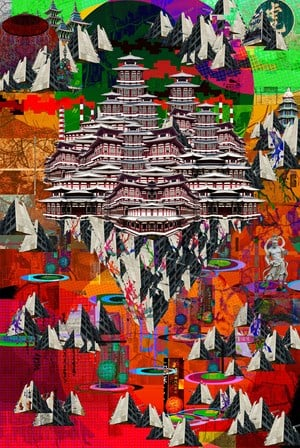 Utopia by Kenny Low contemporary artwork