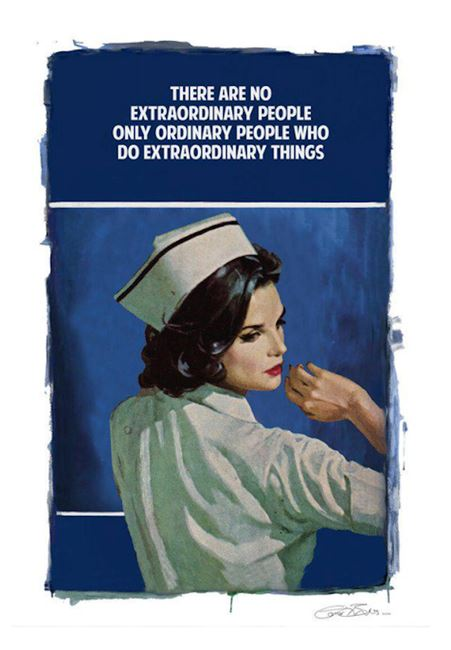 Extraordinary People by The Connor Brothers contemporary artwork