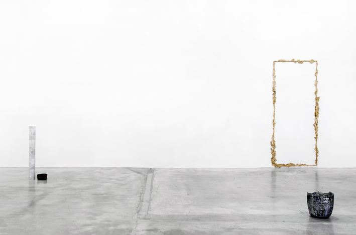 Exhibition view: Tania Pérez Córdova, Short Sight Box, Tina Kim Gallery, New York (12 September–14 November 2020). Courtesy Tina Kim Gallery.