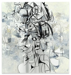 Opening Outward by George Condo contemporary artwork