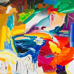After De Kooning No.2 by Seoul Kim contemporary artwork painting
