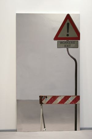 Workers' exit by Michelangelo Pistoletto contemporary artwork