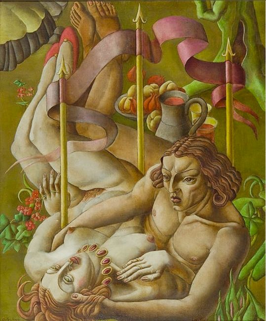 Song of Songs by Ithell Colquhoun contemporary artwork