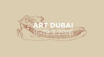 Contemporary art exhibition, Art Dubai 2016 at Galerie Krinzinger, Vienna