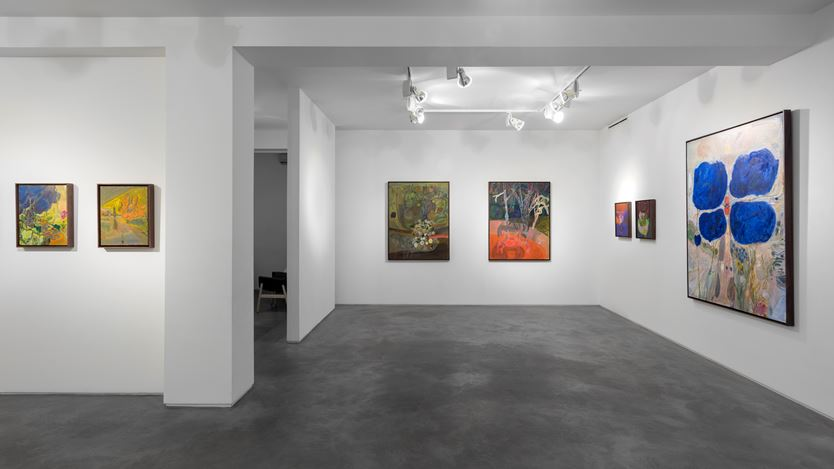 Exhibition view: Lisa Sanditz, Mud Season, Huxley-Parlour, London (22 September–24 October 2020). Courtesy Huxley-Parlour.