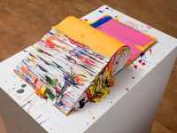 Painted Monograph by Richard Jackson contemporary artwork works on paper, sculpture