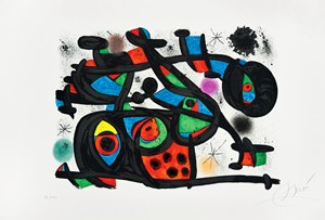 Rapt (Le) by Joan Miró contemporary artwork